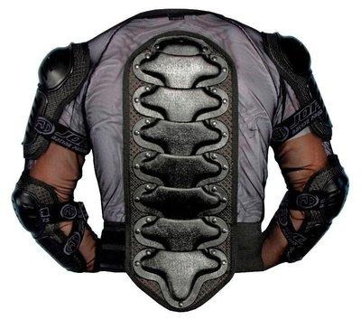 Jopa Bodyprotectorvest + kidney belt Black