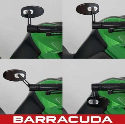 Barracuda SKIN-R BAR END B-LUX spiegels