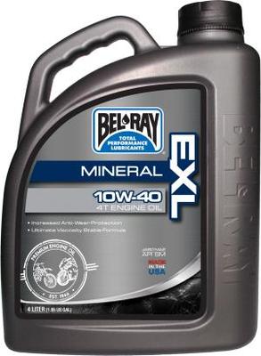 Bel Ray Minerale olie 10W40 4 liter