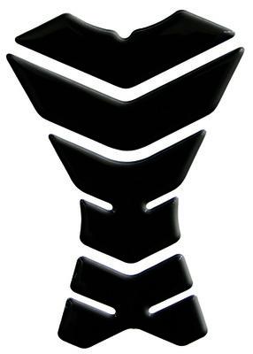NEW LABEL Tankpad Classic 3 Zwart - UNIVERSEEL