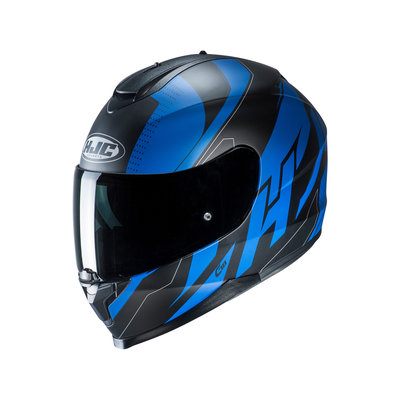 HJC motorhelm C70 Boltas blauw