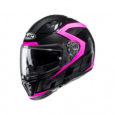HJC motorhelm I70 Asto roze