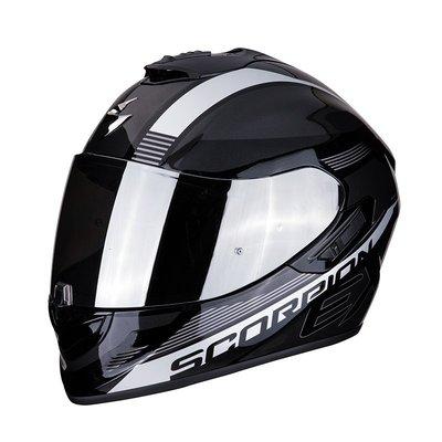Scorpion EXO-1400 AIR FREE Metal black-Silver