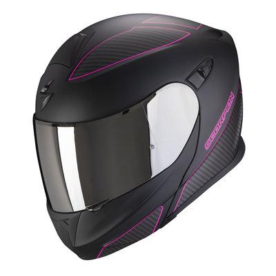 Scorpion Systeemhelm EXO-920 FLUX Matt Black-Pink S