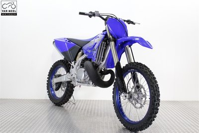 YAMAHA YZ250 icon blue