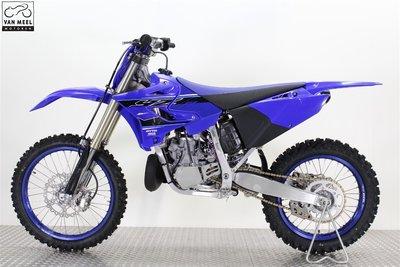 YAMAHA YZ250 icon blue