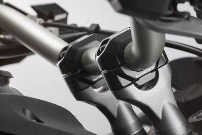 SW Motech Stuurverhoger voor 22mm stuur 15mm hoog