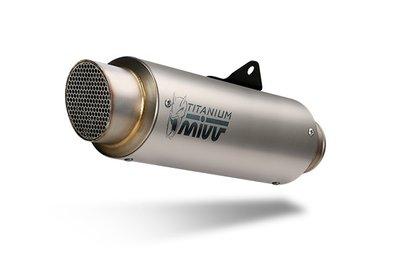 MIVV compleet 2-1 systeem met GP PRO titanium demper Yamaha MT-07 '14-
