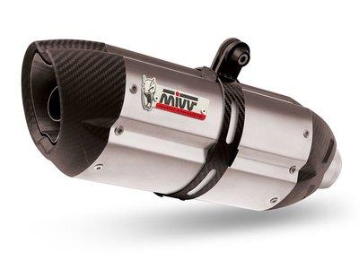 MIVV systeem met Suono RVS demper Yamaha MT-09 '13-