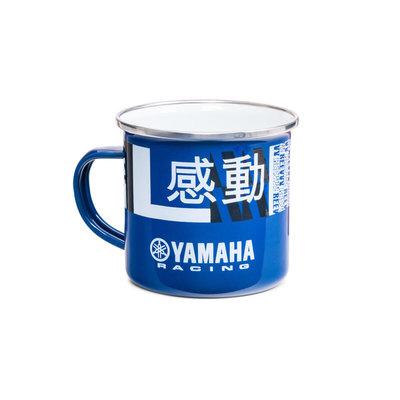 Yamaha Racing mok (emaille)