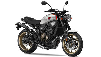 YAMAHA XSR700 XTRIBUTE Tech Black