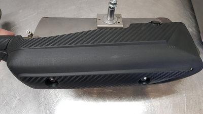 Yamaha R1 originele uitlaatdempers