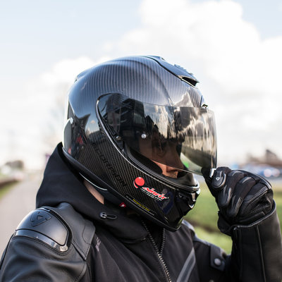 Scorpion EXO 1400 Air Carbon Solid integraalhelm