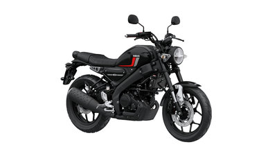 YAMAHA XSR125 tech black