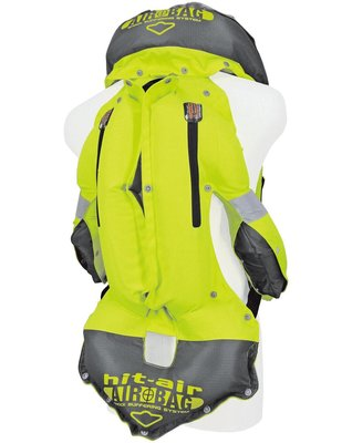 HIT-AIR Airbag Vest Hightech Fluo Yellow