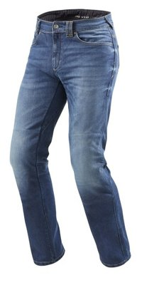 REVIT motorjeans Philly 2 LF medium Blue