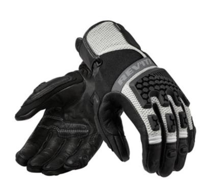 REVIT motorhandschoenen Sand 3 Ladies zwart-zilver