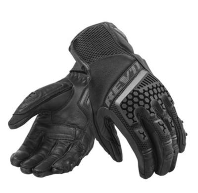 REVIT motorhandschoenen Sand 3 zwart