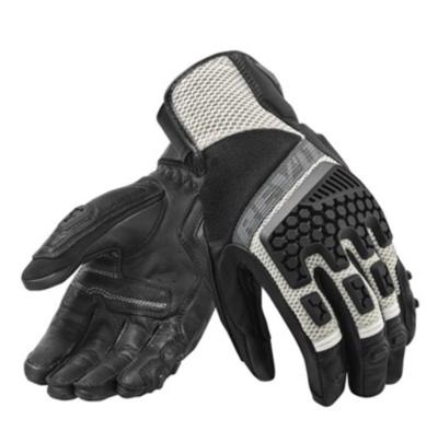 REVIT motorhandschoenen Sand 3 zwart-zilver