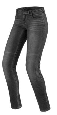 REVIT motorjeans Jeans Westwood SF Zwart Ladies Medium grey Used