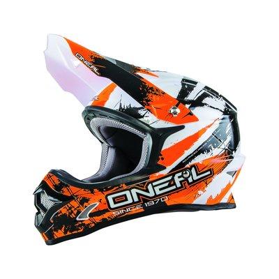 Motorhelm O'Neal 3 Series Shocker Oranje