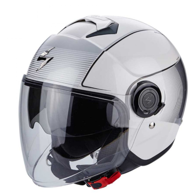 Scorpion Jethelm EXO-City Wind White/Silver