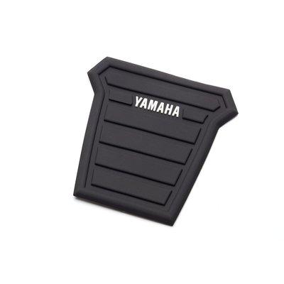Tankpad zwart met Yamaha logo