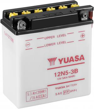 YUASA 12N5-3B Accu
