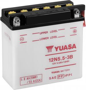 YUASA 12N5.5-3B Accu