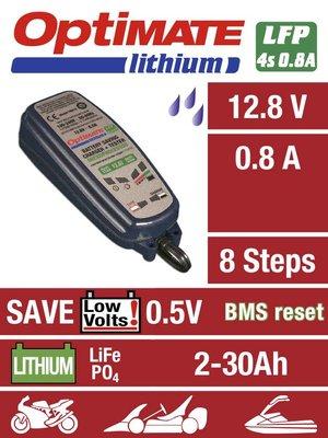 TECMATE OPTIMATE LITHIUM 0.8A ACCUONDERHOUDER
