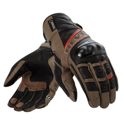 REVIT motorhandschoenen Dominator GTX bruin rood