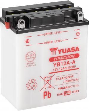 YUASA YB12A-A Accu