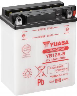 YUASA YB12A-B Accu