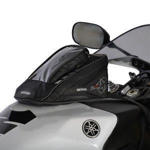 Oxford Tanktas Micro met magneten model M1R zwart