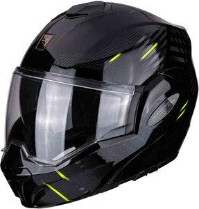 Scorpion Systeemhelm EXO-Tech Puls zwart Fluo