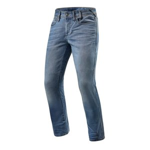 REVIT motorjeans Jeans Brentwood SF Lichtblauw Used