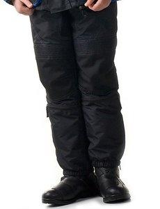 IGM Kinder motorbroek zwart
